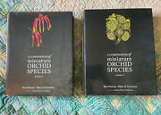 A Compendium Of Miniature Orchid Species Vol. 1and2 Unused Out Of Print