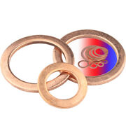 Repair Flat Washers Copper For Bolts And Screws M5 M6 M8 M10 M12 M14 Thick 1mm