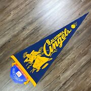 California Angels Mitchell And Ness Classic Felt Pennant Cooperstown Collection