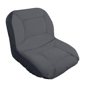 Cub Cadet Lawn Tractor Seat Cover Protective Fabric Medium Size Backrest Gray