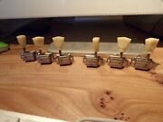 Rare Kluson No Name Patent Applied Tuners To Fit A And03950s Gibson Les Paul Gold Top