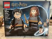 Lego Harry Potter And Hermione Granger 76393 Nib In Hand