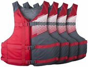 Fit Adult Pfd 4 Pack Coast Guard Approved Universal Typelll Cost Guard Approved