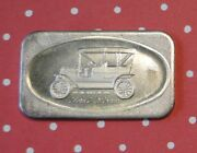 Ford T. Lizzie 1 Troy Oz .999 Fine Silver Argent Fin Bar