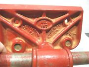 Littlestown Pa. No.197 Bench Vise 7 Jaws _howe And Fdy Co.