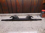 2002-2009 Ram 1500 Oem Front Tow Hook Bar 52020556ac W/ Brackets Mounting Bolts