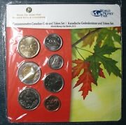 2012 World Money Fair Berlin Uncirculated Canadian Coin Set With Special Medal