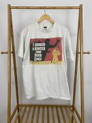 Vtg I Married A Monster From Outer Space Horror Movie Promo T-shirt Size Xl Rare