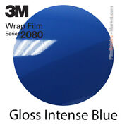Gloss Intense Blue 3m 2080 G47 New Series Car Wrapping Total Covering Film
