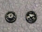 10 Pack Of 5121 Brake Wheel With Hole For Mantua And Tyco Ho Scale New Part