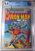 Iron Man 118 Cgc 9.4 1st Appearance Of James Rhodes White Pages War Machine