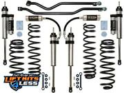 Icon K22004 3 Suspension Lift Kit Stage-4 For 2007-18 Jeep Wrangler Jk 2wd/4wd