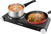 Cusimax Electric Cooktop Portable Multipurpose Suitable For All Type Of Cookware