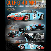 Acme 112 Ford Gt40 Mki 6 1969 Le Mans Champion Diecast Car Model Collection
