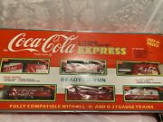 Coca Cola Express Train Set 1111. Electric. Never Out Of Box. Opened For Pict