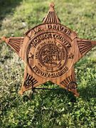 Police Fire Military Ems Security Badges Patches Coin Memorial Retirement Carved