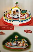 Department 56 Twirling Tea Cups Ride Carnival Collection