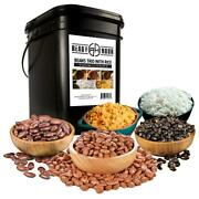 Beans Trio With Rice Emergency Food Kit 100 Servings 14 Pk. By Ready Hour