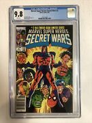 Secret Wars 1984 2 Cgc 9.8 Wp Canadian Price Variants Cpv Only 2 Cgc