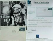 Virgil And039and039gusand039and039 Grissom Original Mercury Seven Astronaut Autograph Authenticated