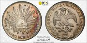 M026 Republic 8 Reales 1880-mo Mh Mo65 Pcgs Xf Details - Damage