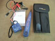 Nice Fluke Networks Pro3000 Tone Generator Probe Case And Users Guide