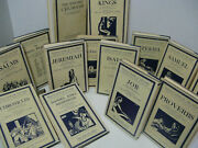14 Volume Set Of English Tanach/bible Early Edition With Original Dust Covers