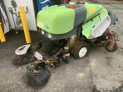 Applied Model 414rs Green Machine Sweeper Low Hours Kubota Diesel Parts Or Fix