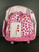 Barbie 3-in-1 Rolling Backpack And Wristlet