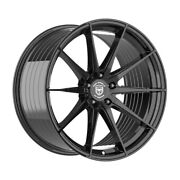 4 Hp4 20 Inch Staggered Gloss Black Rims Fits Jaguar S-type R 2003-08