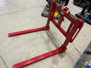 New Wifo Forklift Forks Category 1/2 3pt Hitch Adjustable 2500lbs