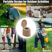 New 10l Portable Toilet Seat Camping Travel Outdoorandindoor Potty Commode