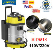 Autool Hts518 Car Engine Carbon Deposition Cleaner Walnut Sand Cleaner Machine