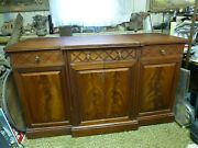 Vintage 1960and039s Stereo Console Cabinet Wood Furniture