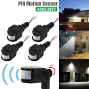 1-4x Pir Infrared Motion Sensor Detector Switch Led Security Outdoor Wall Light