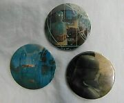 Star Wars Pinback Buttons Lot Of 3 Vintage 2 1/4 Buttons 1970's Including C-3po