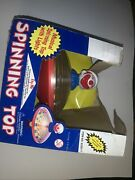 Vintage Clown Musical Spinning Top With Lights Excellent In Box Ultra Rare Sb4