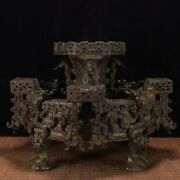 17and039and039 Bronze Ware Ancient Chinese Huaxia Period Contribution King Bronze Plate
