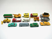 Matchbox Lesney Variation Lot All Have Touch Up On Them From Previous Owner