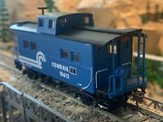 Ho Scale Athearn Rtr 4 Window Caboose Conrail Well Detailed Metal Wheels New