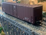 Ho Scale Walthers Gold Line 60' Auto Box Car Pullman Standard Atsf Detailed