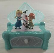 Disney Frozen Elsa And Anna Music Jewelry Box Plays Do You Want To Build A Snowman