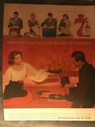 Seagrams 7 Whiskyeveryoneand039s Day Deserves Relaxation1959 Vintage Print Ad B08