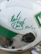 1997 Team Green Kool Helmet Plus Extras - Signed By All Four Drivers