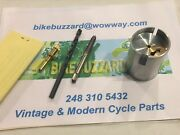 Suzuki Rm250 Rm370 Rm400 36mm Mikuni Carb Left Side Idle Kit 1976 And Up New