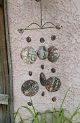 Wind Chime Ceramic Art Pottery Clay Handmade Mobile Unique