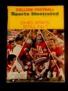 Sept.15,1969 Sports Illustrated Magazine Ohio State Football Cover Nice