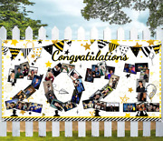 Geefuun Graduation Photo Banner Decorations 2021 Large Personalized Backdrop Cla