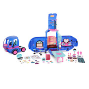 Lol Surprise Omg 4-in-1 Glamper Fashion Camper With 55+ Surprises Electric Blue