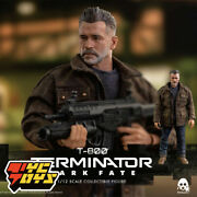 Threezero 1/12 Scale 3z0152 T-800 Old Arnold Man Soldier Action Figure Doll Toys
